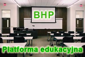 Platforma edukacyjna BHP